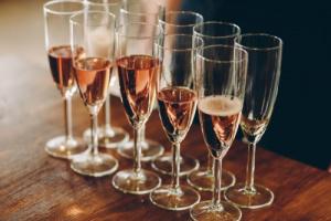 Дегустация. Шампань в розовом цвете