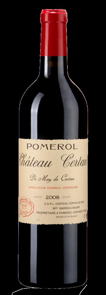Вино Chateau Certan de May Certan, 2008 г.