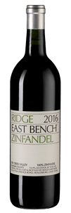 Вино East Bench Zinfandel, Ridge Vineyards, 2016 г.