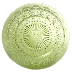 Provenzale-сoordinate Plate (apple green)