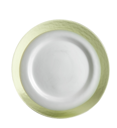 Strip applegreen/white plate SR00113
