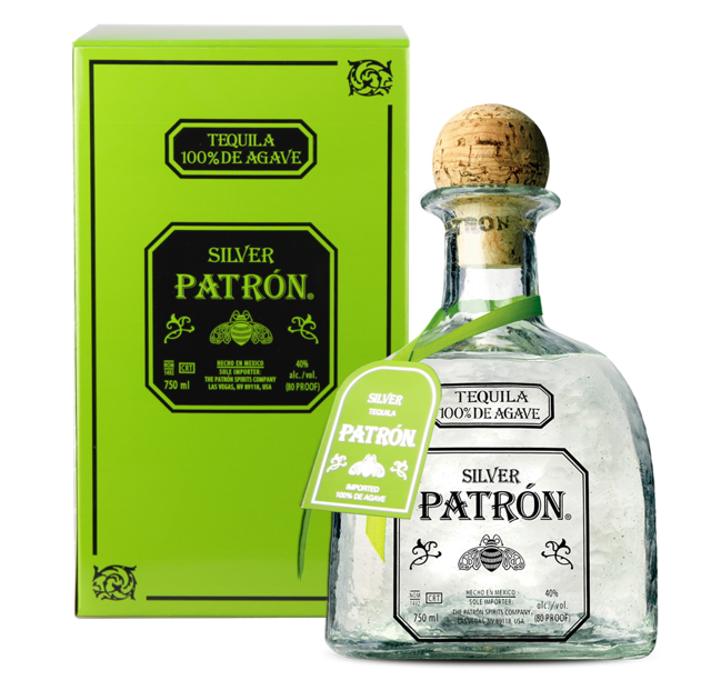 Текила Patron Silver (tin gift box)