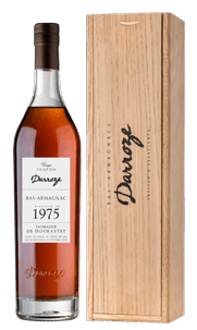 Арманьяк Bas-Armagnac Darroze Unique Collection in wooden giftbox, 1975 г.