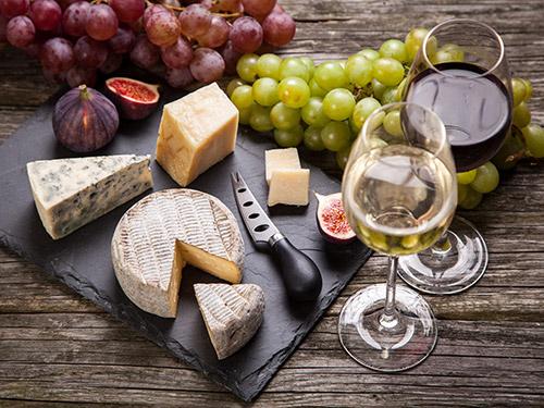 Дегустация. Сыр и вино