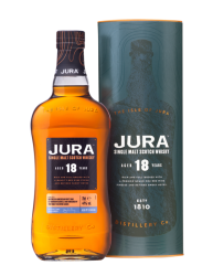 Jura Aged 18 Years in gift box